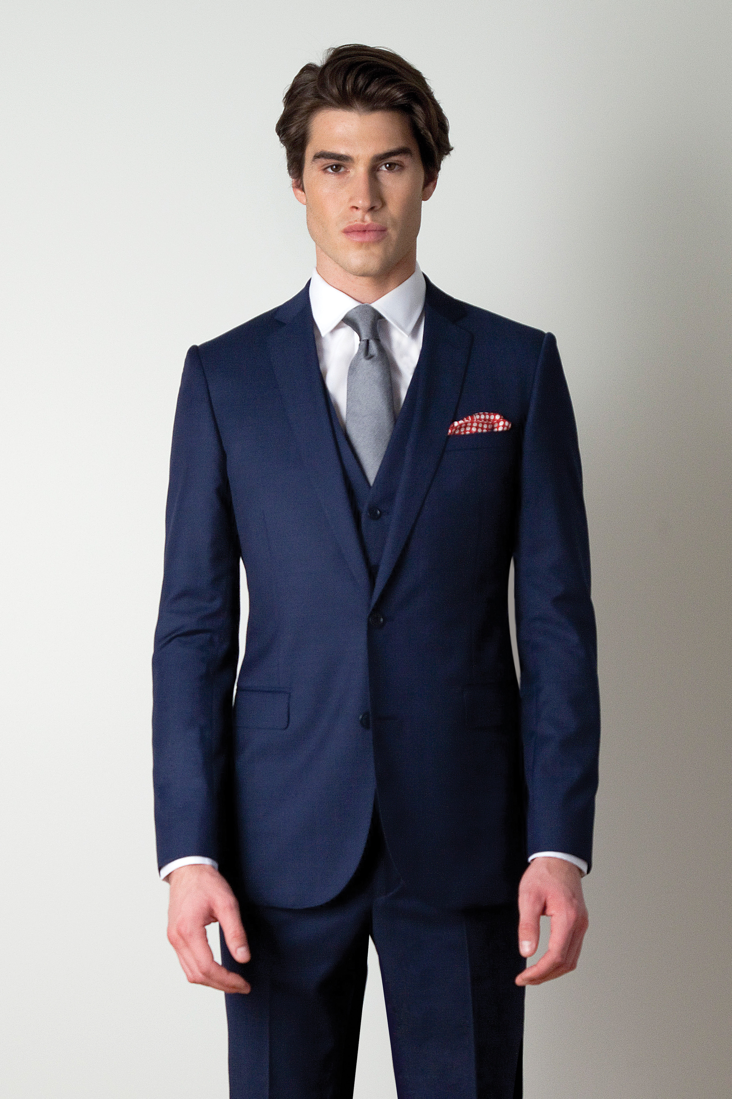 Rooney Jet Mid Blue Retail Suits Formal Wear