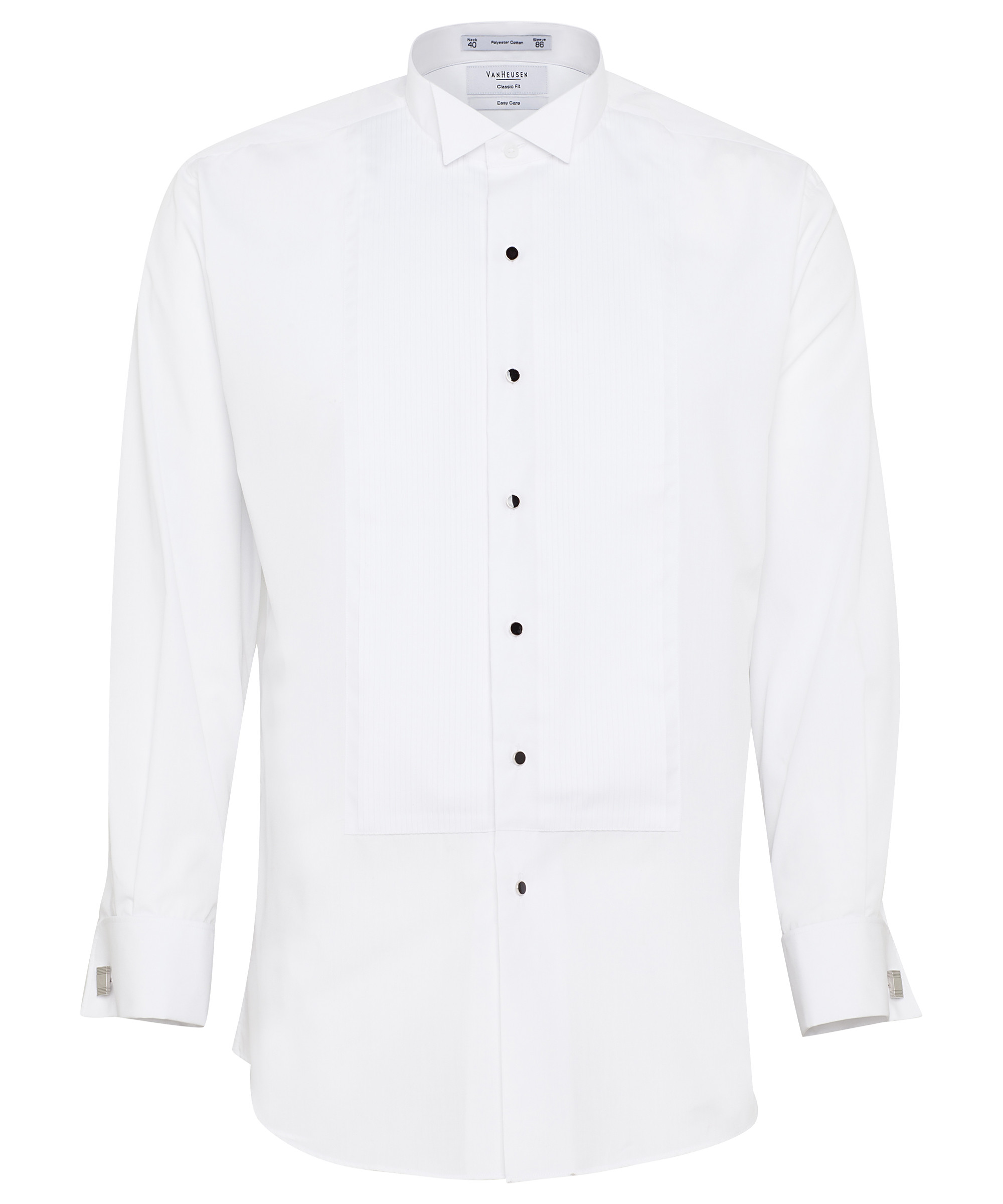 Formal Tuxedo Shirt Pleasted Front Suits Formal