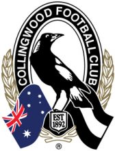 AFL Cuff Links Collingwood Magpies