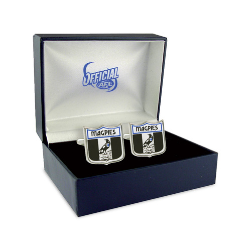 Collingwood Magpies Cuff Links