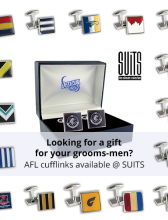AFL Cuff Links