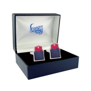 AFL Cufflinks Melbourne Demons Guernsey Box