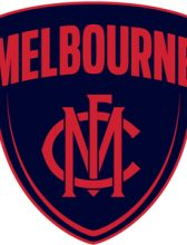 AFL Cufflinks Melbourne Demons