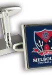 AFL Cufflinks Melbourne Demons Logo