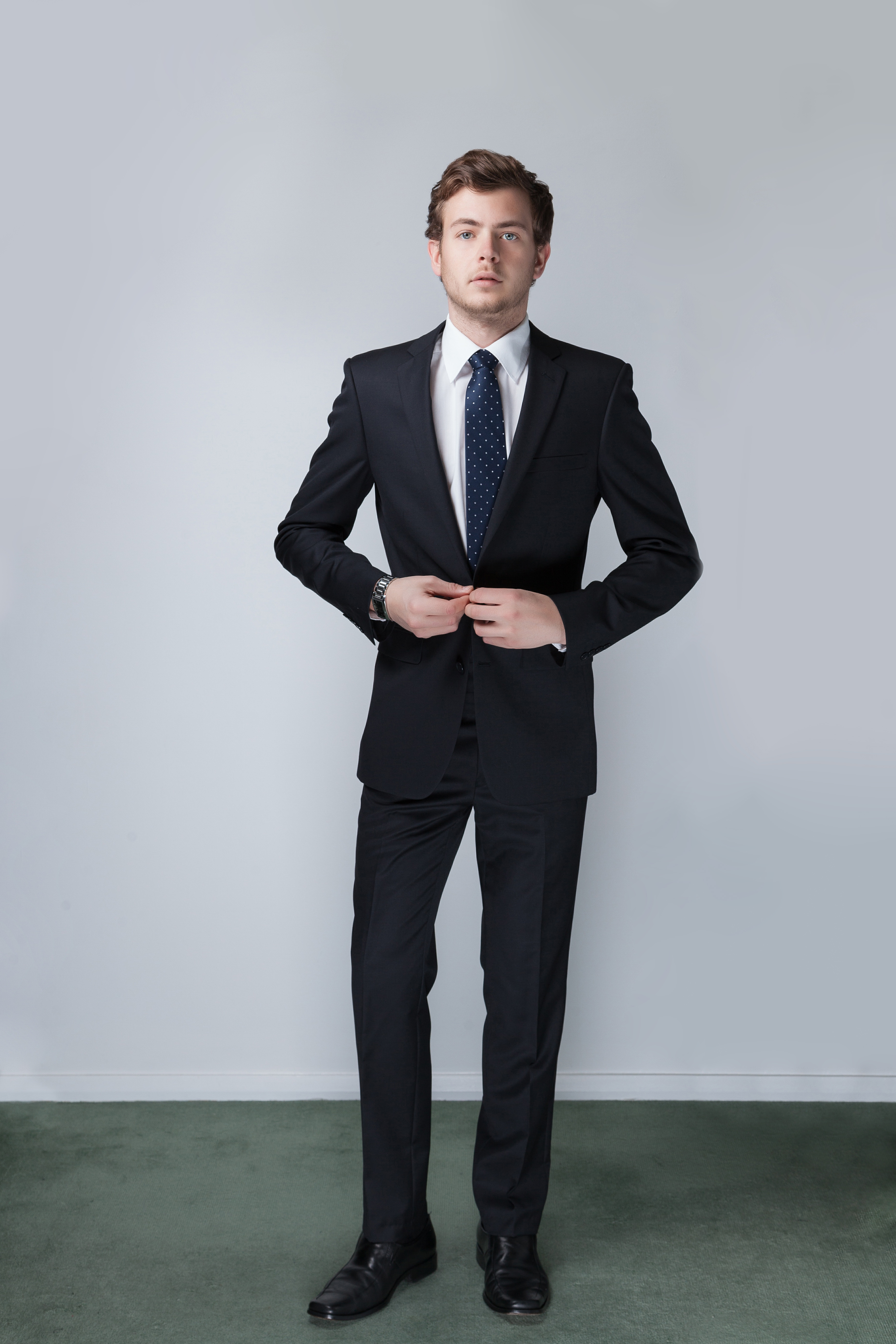New England Suits Rooney Jet Black - RetailSuits Formal Wear